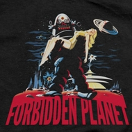 Forbidden Planet Robbie And Woman Shirts