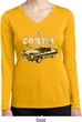 Ford 1974 Cobra Profile Ladies Dry Wicking Long Sleeve Shirt