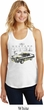 Ford 1974 Cobra Profile Ladies Racerback Tank Top