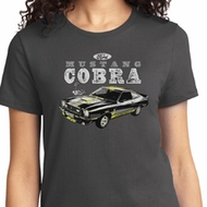 Ford 1974 Cobra Profile Ladies Shirt