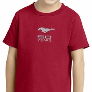 Ford 50 Years Small Print Kids Shirts