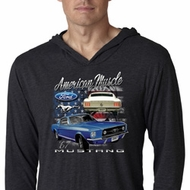 Ford American Muscle 1967 Mustang Lightweight Hoodie Shirt