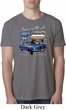 Ford American Muscle 1967 Mustang Mens Burnout Shirt