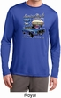 Ford American Muscle 1967 Mustang Mens Dry Wicking Long Sleeve Shirt