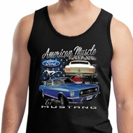 Ford American Muscle 1967 Mustang Mens Tank Top