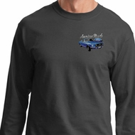 Ford American Muscle 1967 Mustang Pocket Print Long Sleeve Shirt