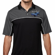 Ford American Muscle 1967 Mustang Pocket Print Mens Polo Shirt