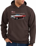 Ford Fairlane 1959 Hoodies Hooded Sweatshirts 500 Convertible Hoodys