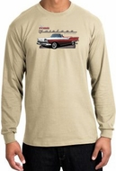 Ford Fairlane 1959 Long Sleeve Shirts - 500 Convertible Adult T-Shirts