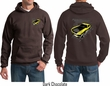 Ford Hoodie Yellow Mustang Boss (Front & Back) Hoody