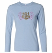 Ford Logo Shirt 4X4 Diva Ladies Long Sleeve Tee T-Shirt