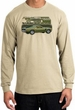 Ford Mustang Boss Long Sleeve Shirt 302 Green Car 1970 Sand T-Shirt