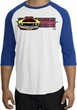 Ford Mustang Boss Raglan Shirt - 302 Yellow Mustang White/Royal Tee