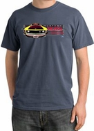 Ford Mustang Boss T-Shirts 302 Yellow Mustang Pigment Dyed Tee Shirt