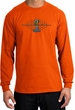 Ford Mustang Cobra Long Sleeve Shirt - Ford Motor Grill Orange T-Shirt