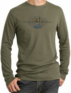 Ford Mustang Cobra Long Sleeve Thermals - Ford Motor Grill Shirts