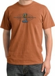 Ford Mustang Cobra Pigment Dyed T-Shirt - Motor Grill Burnt Orange Tee
