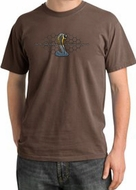 Ford Mustang Cobra Pigment Dyed T-Shirt - Motor Grill Chestnut Tee
