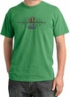 Ford Mustang Cobra Pigment Dyed T-Shirt - Motor Grill Piper Green Tee