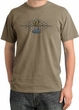 Ford Mustang Cobra Pigment Dyed T-Shirt - Motor Grill Sandstone Tee