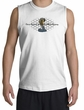 Ford Mustang Cobra Shooter Shirt - Ford Motor Grill White Muscle Shirt