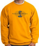 Ford Mustang Cobra Sweatshirt - Ford Motor Company Grill Adult Gold