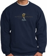 Ford Mustang Cobra Sweatshirt - Ford Motor Company Grill Adult Navy