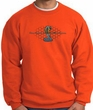 Ford Mustang Cobra Sweatshirt - Ford Motor Company Grill Adult Orange