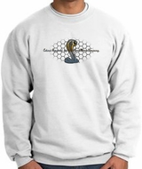 Ford Mustang Cobra Sweatshirt - Ford Motor Company Grill Adult White