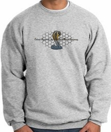 Ford Mustang Cobra Sweatshirt �Ford Motor Grill Adult Athletic Heather