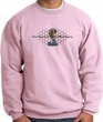 Ford Mustang Cobra Sweatshirt - Ford Mustang Company Grill Adult Pink