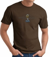 Ford Mustang Cobra T-shirt - Ford Motor Company Grill Brown Tee Shirt