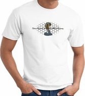 Ford Mustang Cobra T-shirt - Ford Motor Company Grill White Tee Shirt