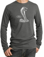 Ford Mustang Cobra T-shirt Thermal Shirt Deep Heather
