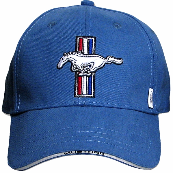 Ford Mustang Gt Hat Fine Embroidered Automotive Cap