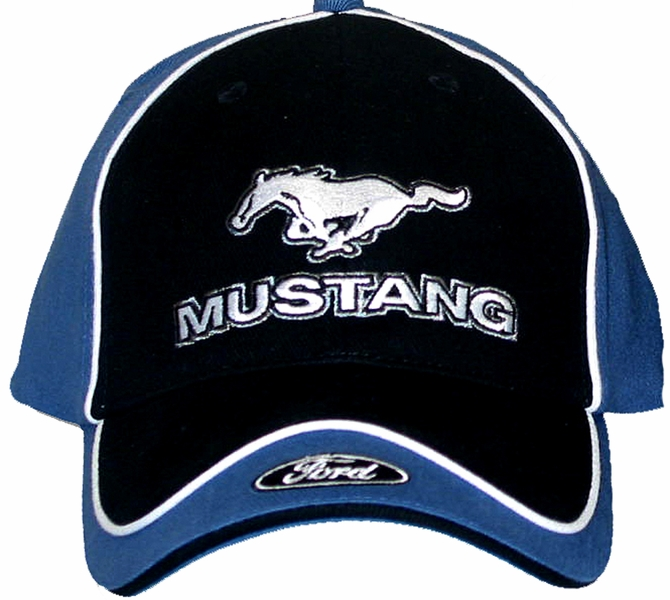 Ford mustang hat with ford logo embroidered cap ford for Hats and shirts with company logo