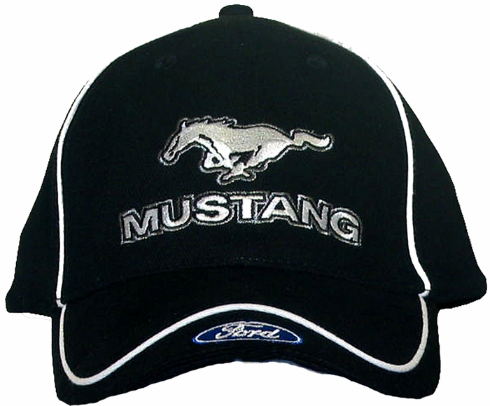 Ford Fayetteville Nc >> Ford Mustang Hat with Ford Logo - Embroidered Cap - Ford Hats - Caps