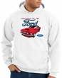 Ford Mustang Hoodie Sweatshirt - Chairman Of The Ford White Hoody