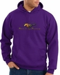Ford Mustang Hoodie Sweatshirt - Make It My Mustang Grill Purple Hoody