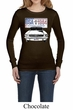 Ford Mustang Ladies Shirt USA 1964 Country Long Sleeve Thermal Tee