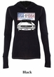 Ford Mustang Ladies Shirt USA 1964 Country Tri Blend Hoodie Tee