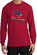 Ford Mustang Long Sleeve Shirt - Chairman Of The Ford Adult Red Tee