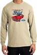 Ford Mustang Long Sleeve Shirt - Chairman Of The Ford Adult Sand Tee