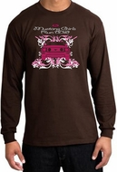 Ford Mustang Long Sleeve Shirts - Girls Run Wild Adult T-Shirts
