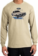Ford Mustang Long Sleeve Shirts - Horsepower Adult T-Shirts