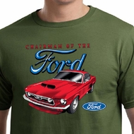 Ford Mustang Mens Shirt Chairman of the Ford Organic Tee T-Shirt