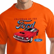 Ford Mustang Mens Shirt Chairman of the Ford Tall Tee T-Shirt