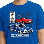 Ford Mustang Mens Shirt GT 500 Pigment Dyed Tee T-Shirt