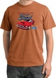 Ford Mustang Pigment Dyed T-Shirt - Chairman Of The Ford Burnt Orange
