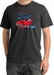 Ford Mustang Pigment Dyed T-Shirt - Chairman Of The Ford Dark Smoke